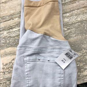 Luxe Essentials Denim Maternity Skinny Jeans Sz 27